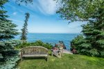 You can enjoy incredible views of Lake Superior from the home and the private 2-acre lot.